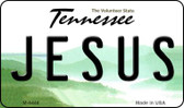 Jesus Tennessee State License Plate Magnet M-6448