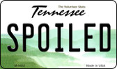 Spoiled Tennessee State License Plate Magnet M-6452