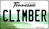 Climber Tennessee State License Plate Magnet M-6649