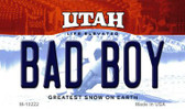 Bad Boy Utah State License Plate Magnet M-10222