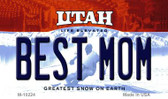 Best Mom Utah State License Plate Magnet M-10224