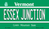 Essex Junction Vermont State License Plate Novelty Magnet M-10668