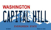 Capital Hill Washington State License Plate Magnet M-8665