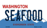 Seafood Washington State License Plate Magnet M-8690