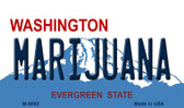 Marijuana Washington State License Plate Magnet M-8692