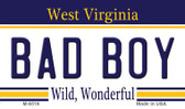 Bad Boy West Virginia State License Plate Magnet M-6516