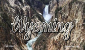 Wyoming Rocky Waterfall Magnet M-11641