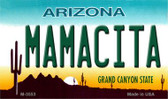 Mamacita Arizona State License Plate Magnet M-3553