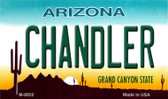 Chandler Arizona State License Plate Magnet M-8652