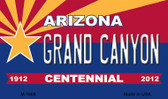 Grand Canyon Arizona Centennial State License Plate Magnet M-1808
