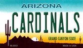 Cardinals Arizona State License Plate Magnet M-2033