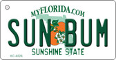 Sun Bum Florida State License Plate Key Chain KC-6026