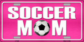Soccer Mom Metal Novelty License Plate