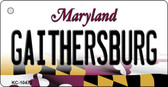 Gaithersbury Maryland State License Plate Key Chain KC-10472