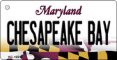 Chesapeake Bay Maryland State License Plate Key Chain KC-10510