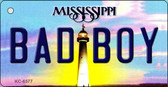 Bad Boy Mississippi State License Plate Key Chain KC-6577