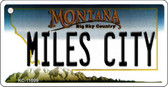 Miles City Montana State License Plate Novelty Key Chain KC-11099
