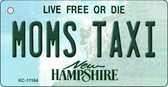 Moms Taxi New Hampshire State License Plate Key Chain KC-11164