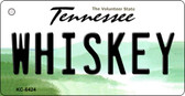 Whiskey Tennessee License Plate Key Chain KC-6424