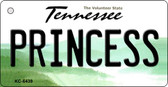 Princess Tennessee License Plate Key Chain KC-6439