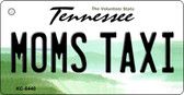 Moms Taxi Tennessee License Plate Key Chain KC-6440