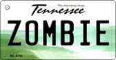 Zombie Tennessee License Plate Key Chain KC-6753