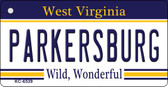 Parkersburg West Virginia License Plate Key Chain KC-6539