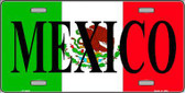 Mexico Metal Novelty License Plate LP-3428