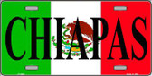 Chiapas Metal Novelty License Plate LP-3430