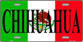 Chihuahua Metal Novelty License Plate LP-3431