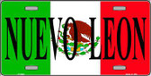 Nuevo Leon Mexico Metal Novelty License Plate LP-3446
