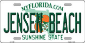 Jensen Beach Florida Novelty License Plate LP-11691