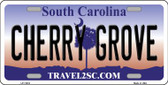 Cherry Grove South Carolina Novelty License Plate LP-11416