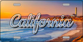California Beach State License Plate LP-11588