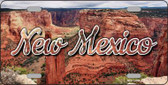 New Mexico Red Canyon State License Plate LP-11617