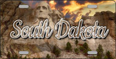 South Dakota Mt Rushmore State License Plate LP-11630