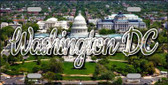Washington DC White House State License Plate LP-11638