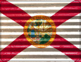 Florida Flag Novelty Parking Sign P-2323