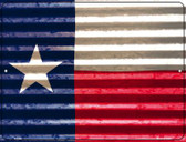 Texas Flag Novelty Parking Sign P-2357