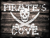 Pirates Cove Parking Sign P-1808