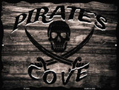 Pirates Cove Parking Sign P-1810