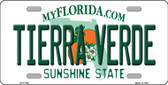 Tierra Verde Florida Novelty License Plate LP-11768