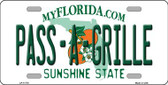 Pass A Grille Novelty License Plate LP-11770