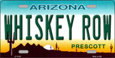 Whiskey Row Arizona Novelty License Plate LP-11919