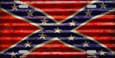 Confederate Flag Novelty License Plate LP-11813