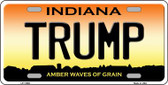 Trump Indiana Novelty License Plate LP-11866