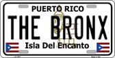 The Bronx Puerto Rico Novelty License Plate LP-11872