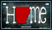 Arkansas Home State Outline Novelty Motorcycle Plate MP-11995