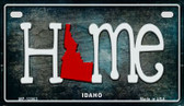 Idaho Home State Outline Novelty Motorcycle Plate MP-12003