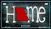Missouri Home State Outline Novelty Motorcycle Plate MP-12016